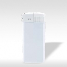 Пластмасови запалки - Широки бели - 100бр