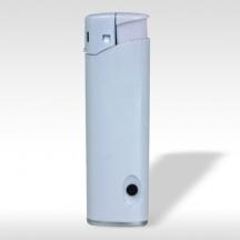 Пластмасови запалки - LED бели - 100бр