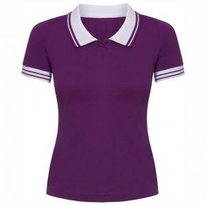 ID339 Дамска тениска тип лакоста  NANCY - PO6637 100% памук 165гр