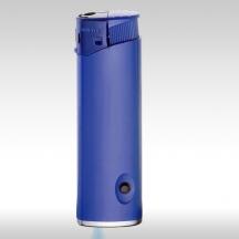 Пластмасови запалки - LED сини - 100бр