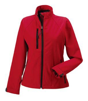 ID423 Дамско яке Ladies Soft Shell Jacket 92% полиестер, 8% ликра 300гр./м2