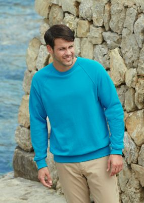 ID10 Ватирана блуза LIGHTWEIGHT RAGLAN SWEAT - 62138 80% памук, 20% полиестер 240гр/м2