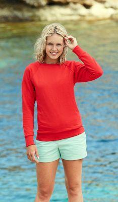 ID9 Ватирана блуза LADY-FIT LIGHTWEIGHT RAGLAN SWEAT - 62146  80% памук, 20% полиестер 240гр/м2