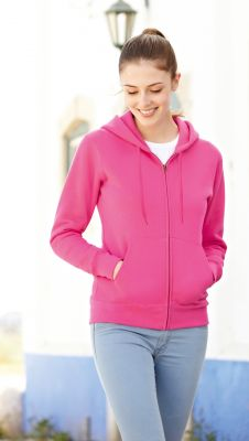 ID427  Суитчър ватиран LADY-FIT PREMIUM HOODED SWEAT JACKET - 62118 70% памук, 30% полиестер 280г./м2