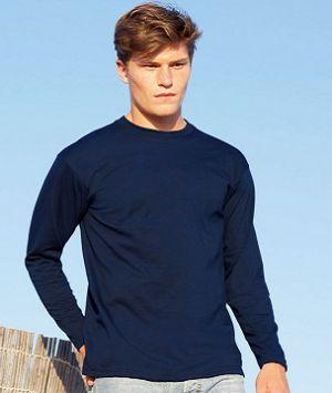 ID84 Тениска Valueweight T VALUEWEIGHT LONG SLEEVE T - 61038 с дълъг ръкав  100% памук  165гр