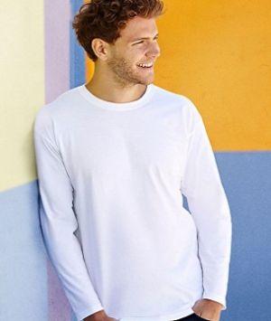 ID69 Тениска с дълъг ръкав    SUPER PREMIUM LONG SLEEVE T - 61042 100% памук 215гр.