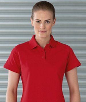 Дамски поло тениски LADIES HEAVY DUTY R-011F 100% памук 215гр.