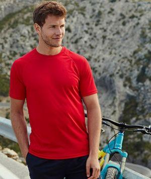 ID01  Мъжка тениска PERFORMANCE T - 61390 100% Полиестър 145гр