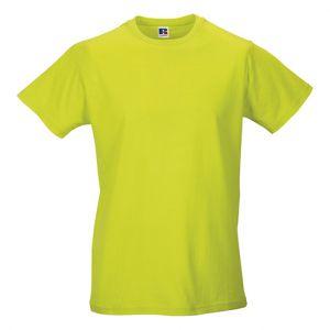 ID438 Мъжка памучна тениска 100% памук 155гр.