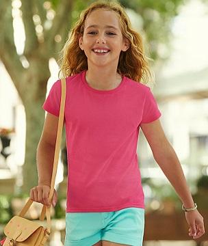 Детски тениски GIRLS SOFSPUN T