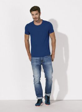 ID187 Мъжки тениски  STANLEY ADORES - STTM526 100% органичен памук   120гр./м2