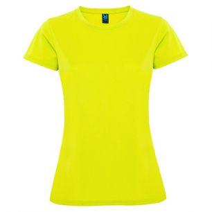 ID274 Дамска спортна тениска от дишаща материя MONTECARLO WOMAN - CA0423 100% полиестер 145гр.