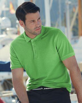 Мъжки поло тениски PREMIUM POLO - 63218 100% памук, къс ръкав 180гр
