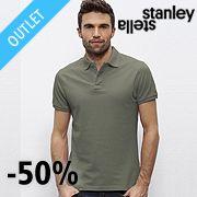 Мъжки поло тениски STANLEY PERFORMS ORGANIC PIQUE POLO 100% органичен памук 220гр