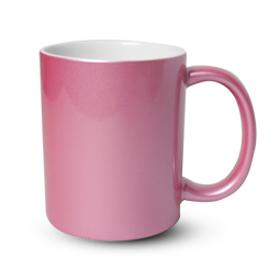 РОЗОВА ПЕРЛА чаша с печат по снимка и лого
