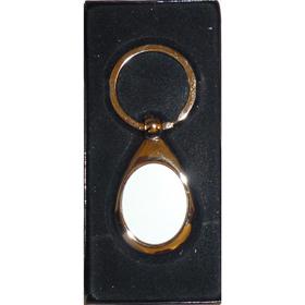 Ключодържател ОВАЛ с печат по снимка и лого