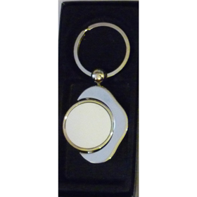 Ключодържател КРЪГ с печат по снимка и лого
