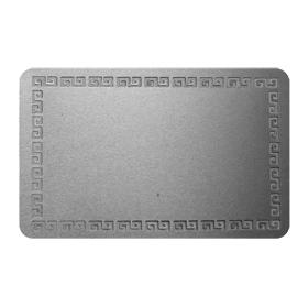 Метална визитка за сублимационен печат по снимка и лого