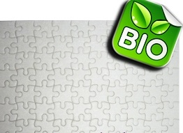 Bio - Матов пъзел - А4 с печат по снимка и лого