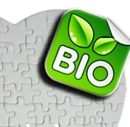 Bio - Матов пъзел СЪРЦЕ с печат по снимка и лого