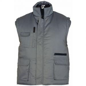 ID 561 Мъжко работно яке без ръкав ALMANZOR - CQ5067 20% памук, 80% полиестер