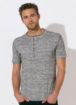 ID1227 Плътна мъжка риза STANLEY FLAMES - STTM555 100% памук  230гр./м2
