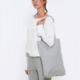 ID1093  Пазарска чанта  TOTE BAG - STAU760  80% рециклиран пениран памук, 20% полиестер 300гр./м2