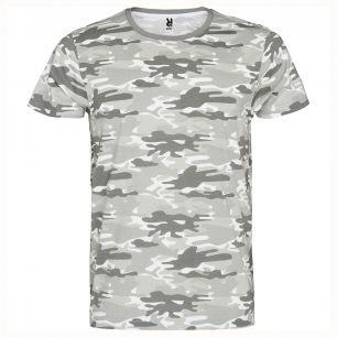 ID52 Камуфлажна унисекс тениска   MARLO - CA1033 100% памук 160гр./м2
