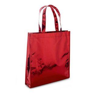 ID276 Ламинирана чанта с дръжки, 100% Полиестер, 90гр./м2