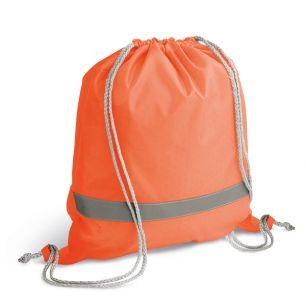 ID410 Чанта с шнур Неон, 100% полиестер 100гр./м2