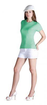 ID326 Дамска вталена тениска ARA - CA6518 100% памук 200гр.