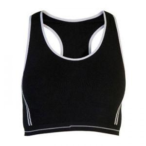 ID374 Дамско спортно бюстие  VERONA - CA0496 92% памук, 8% ликра 230гр.