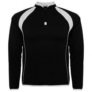 ID283 Двуцветна мъжка футболна блуза   SEUL - SU1097  20% памук, 80% полиестер 200гр.