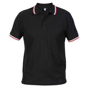 ID371 Мъжка тениска поло тип лакоста HOCKEY POLO - PO6608 35% памук, 65% полиестер 220гр.